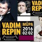 Vadim Repin orosz hegedűvirtuóz